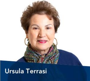 Ursula Terrasi, a board member for the Lead Bank community