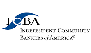 The Independent Community Bankers of America ICBA logo