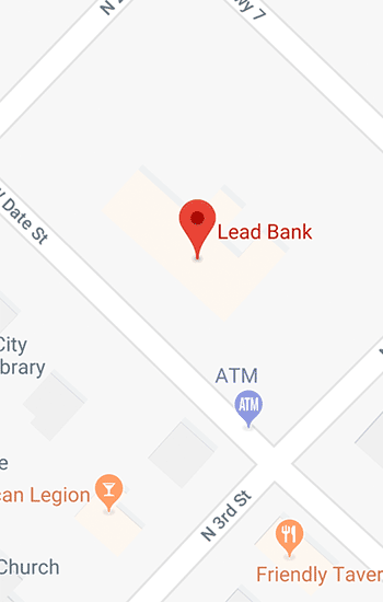 Contact Us | Lead Bank Community Bank